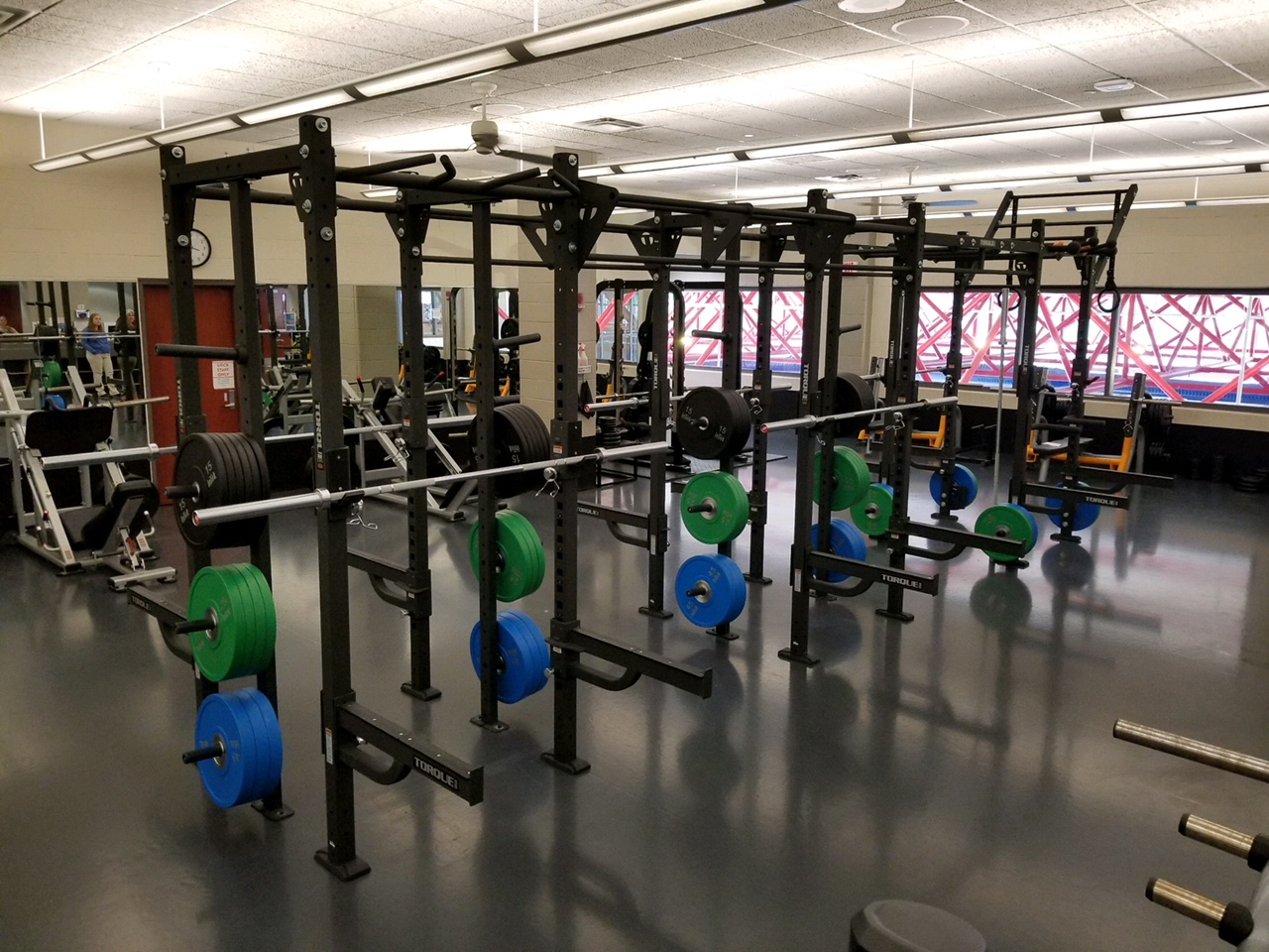 design fitness sells torques fitness to colleges